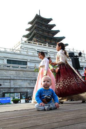 Viajar a corea del sur con un bebé , experiencia única