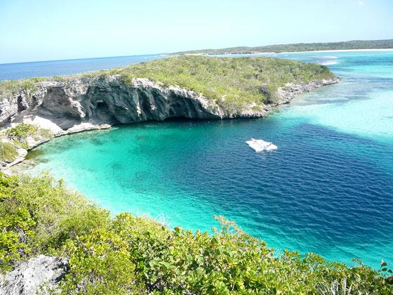 Agujero azul de las Bahamas