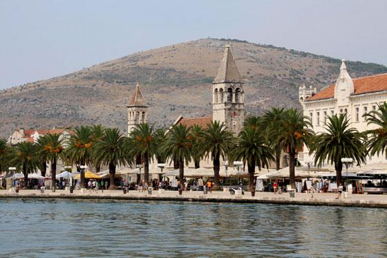 Los casi 500 metros del paseo marítimo de Trogir son una maravilla