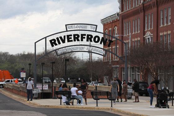El paseo fluvial de Montgomery!!
