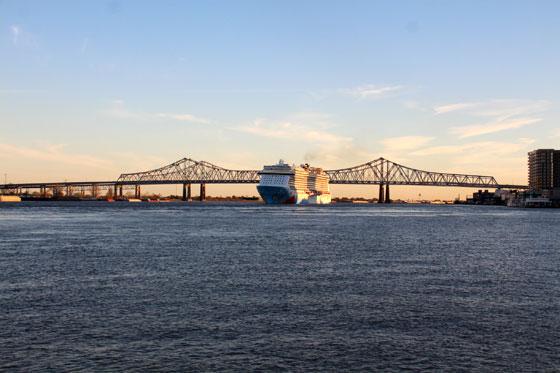 Río Missisipi en New Orleans