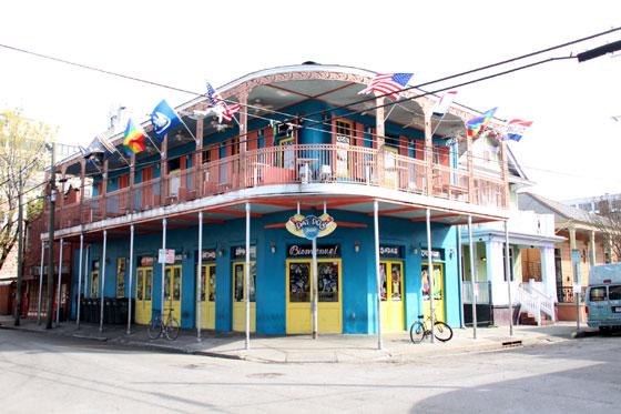 Casa en el French Quarter de Nueva Orleans