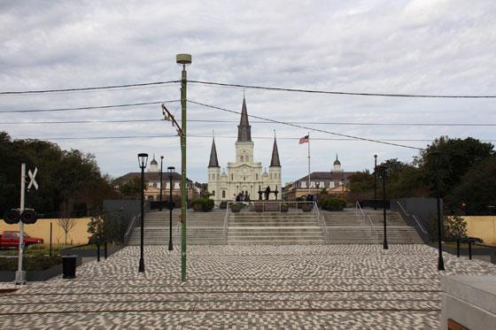 La Plaza de armas de Nueva Orleans (ruta por el sur de Estados Unidos)