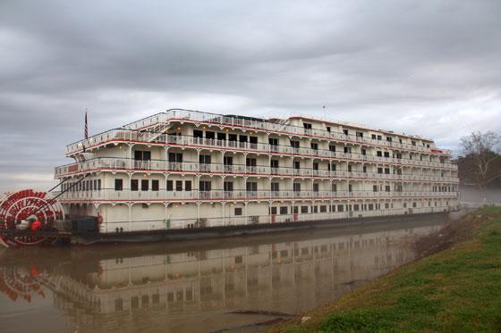 Barco de vapor en Natchez (Ruta por el sur de estados Unidos)