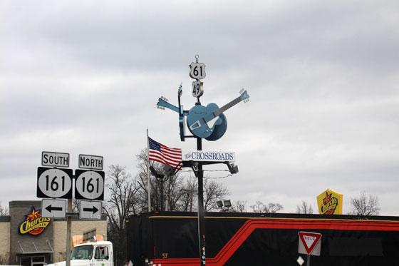 El famoso cruce de caminos de Clarksdale (ruta por el sur de Estados Unidos)