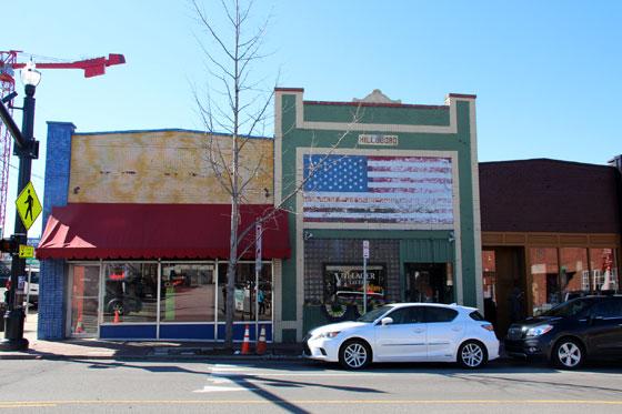 Calle de Hillsboro Village , Ruta por el sur de Estados Unidos