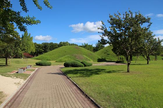 Un mausoleo convertido en parque