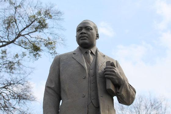 Martin Luther King , emblema de la lucha racial
