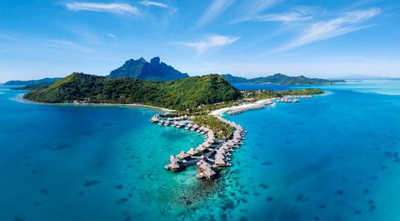 Lugar fascinante y único en el planeta , así es la Polinesia francesa