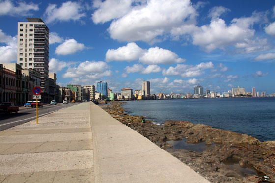El famoso Malecón
