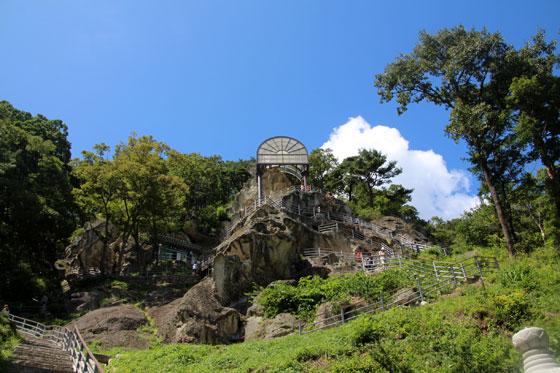Las cuevas del templo Golgulsa