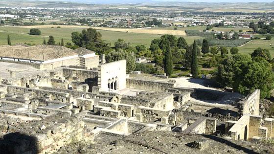 Vista de parte de Medina Azahara