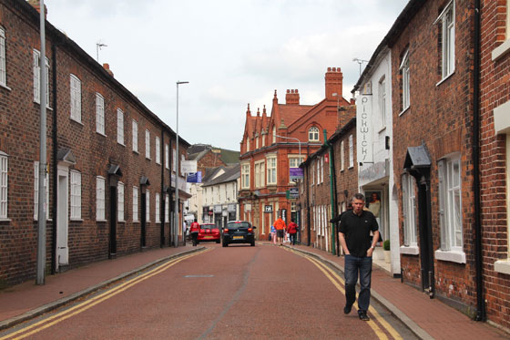 Calles de Nantwich , con aire medieval