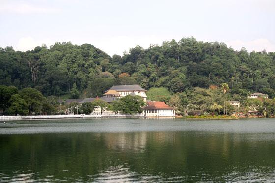 Que ver en Kandy (Lago de Kandy)