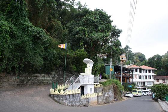 Ascenso a la colina de Kandy