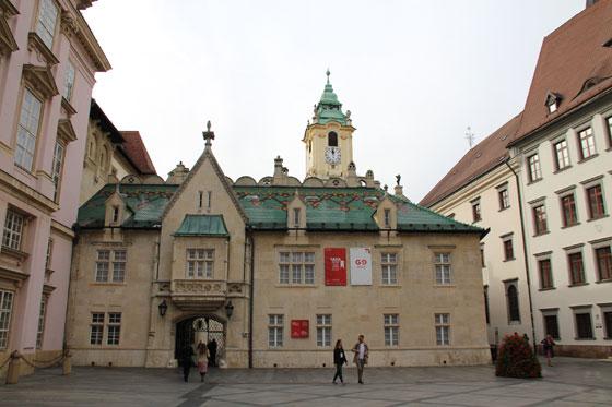 Viejo ayuntamiento , que ver en Bratislava