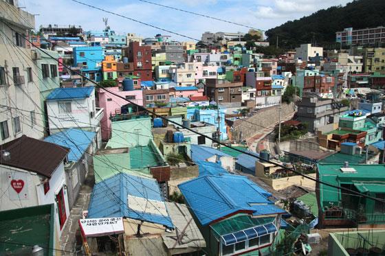 Busan, el barrio de las casas de colores