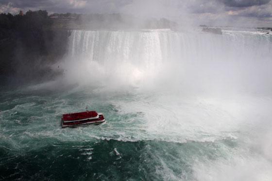 Ruta por Canadá por libre , cataratas del Niagara