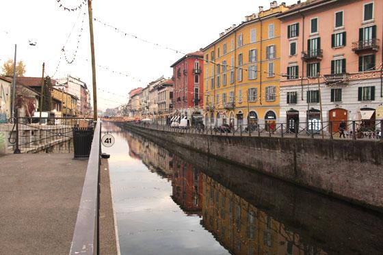 Los Navigli , una maravilla de Milán