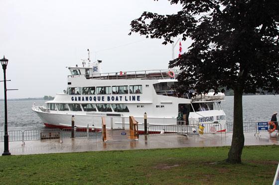Puerto de Gananoque (ruta por Canadá)
