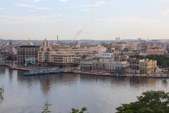 Vistas inmejorables de La Habana