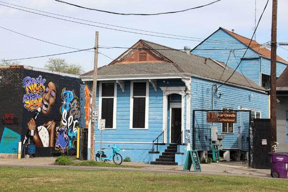 Calles de Nueva Orleans