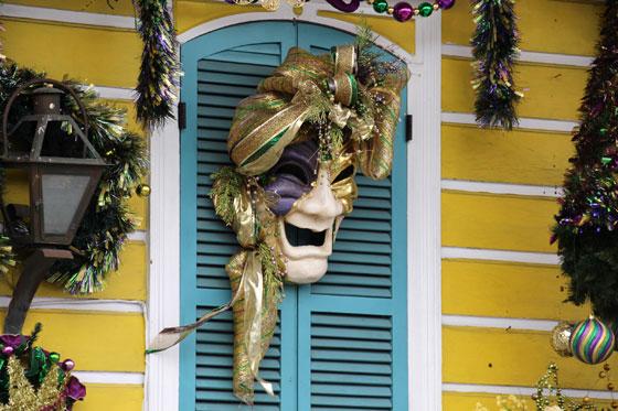Adornos en Nueva Orleans