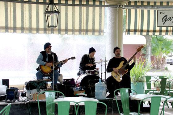 Música en directo en las calles del barrio francés
