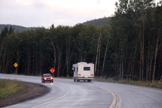 Viajar en coche por Canadá (Mejor de día)