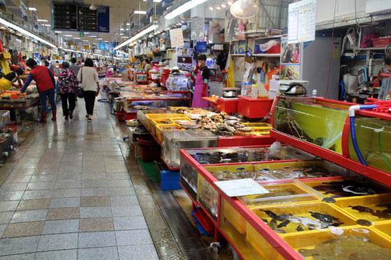 Mercado Jagalchi , Que ver y hacer en Busan