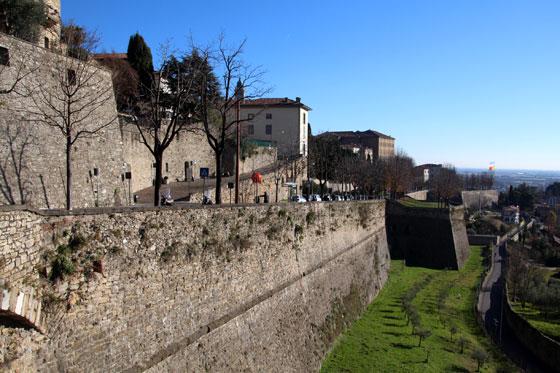 Bérgamo , una ciudad entre murallas