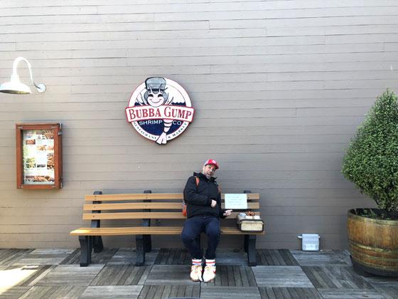 Que ver en San Francisco ... Bubba Gump Shrimp Co