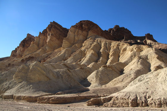 Formas del Zabriskie Point , Death Valley