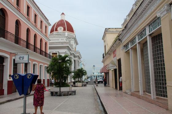 Casco antiguo de Cienfuegos