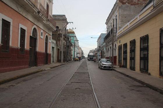 Calles coloniales de Cienfuegos