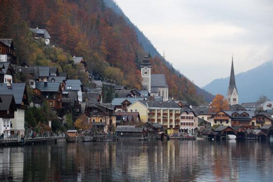 Hallstatt , el pueblo mas bonito de Austria