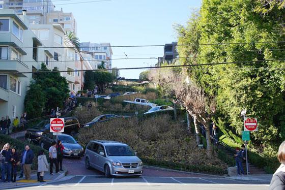 Que ver en San Francisco , Lombard street