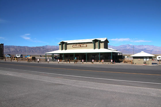 Centro de visitantes Furnace Creek del Death Valley