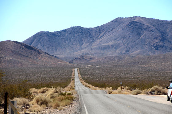 Un roadtrip , de película en el Death Valley