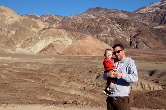 La paleta del artista , Death Valley