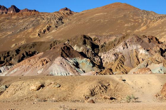 Artist's Palette , Colores del Death Valley
