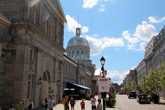 Un centro histórico muy europeo