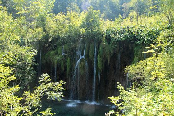 Paraíso repleto de cascadas