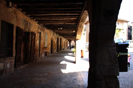 Porticones de Santa Pau