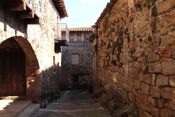 Calles medievales únicas