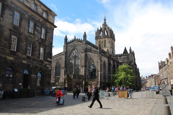 Edimburgo , una ciudad monumental