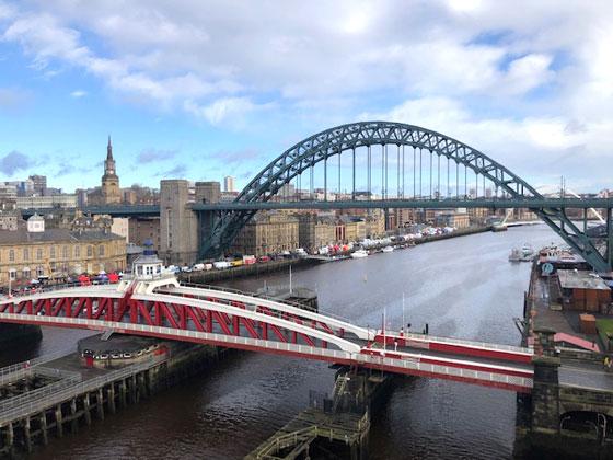 Puentes sobre el río Tyne