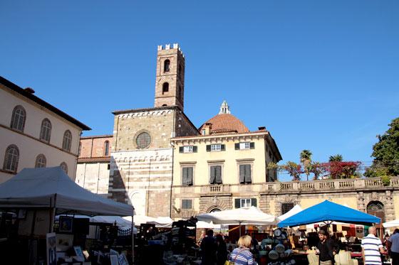 Lucca, Basílica de San Frediano