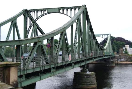 El puente de los espías de Potsdam