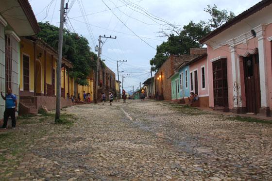 Zona peatonal de Trinidad